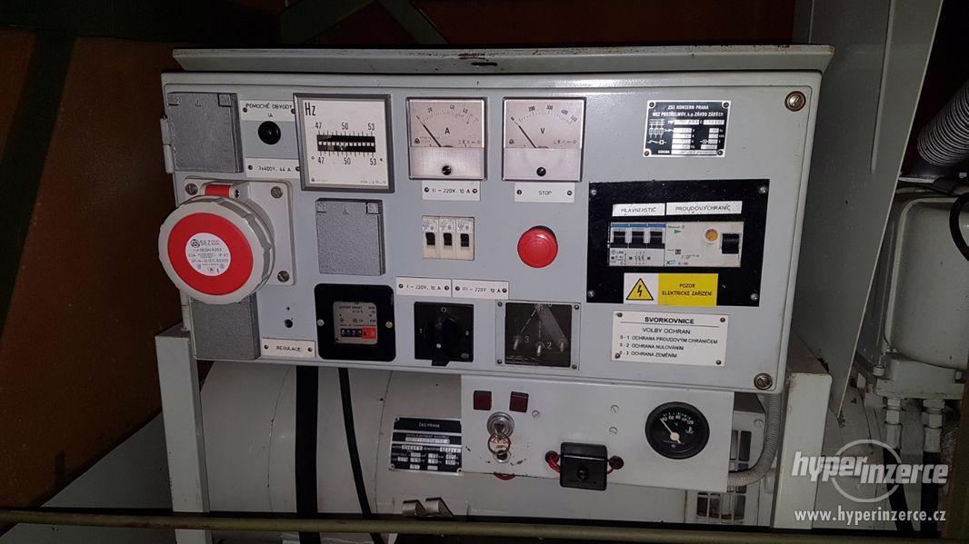 Elektrocentrála Slavia DES 30 - foto 3