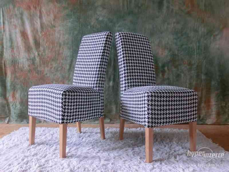 Nová jídelní židle RONA set 2ks