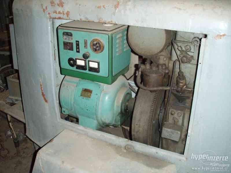 koupím elektrocentrálu na podvozku s naftovým motorem Slavia - foto 3