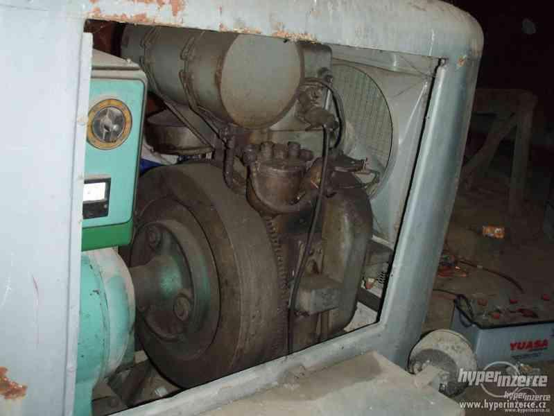 koupím elektrocentrálu na podvozku s naftovým motorem Slavia - foto 4