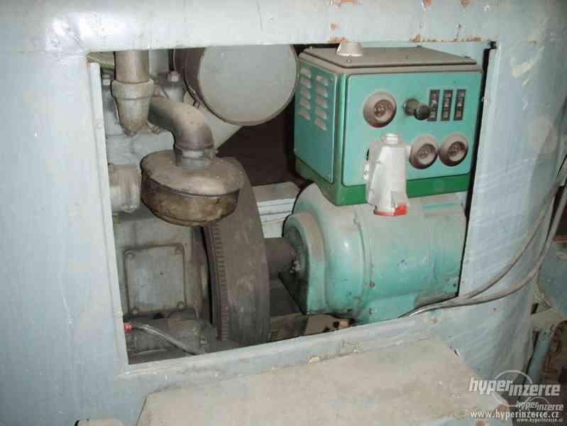 koupím elektrocentrálu na podvozku s naftovým motorem Slavia - foto 5
