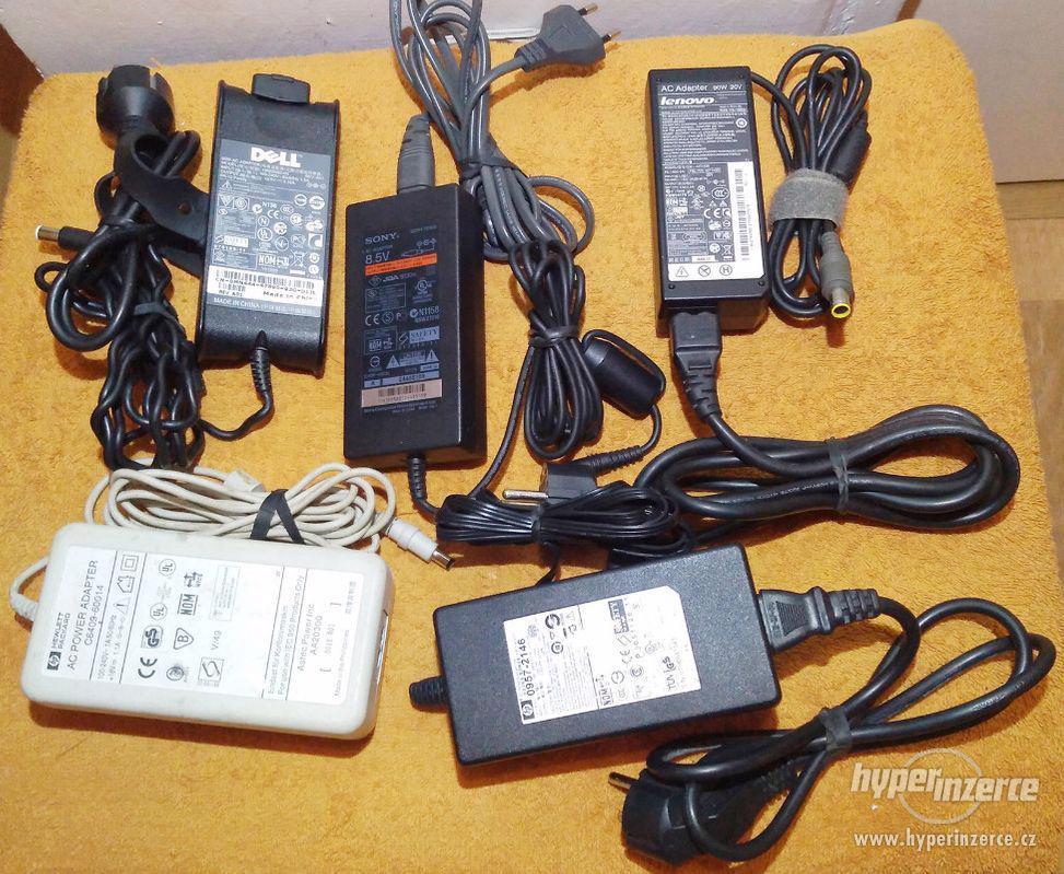 Zánovní originální napájecí AC adaptéry!!! - foto 1