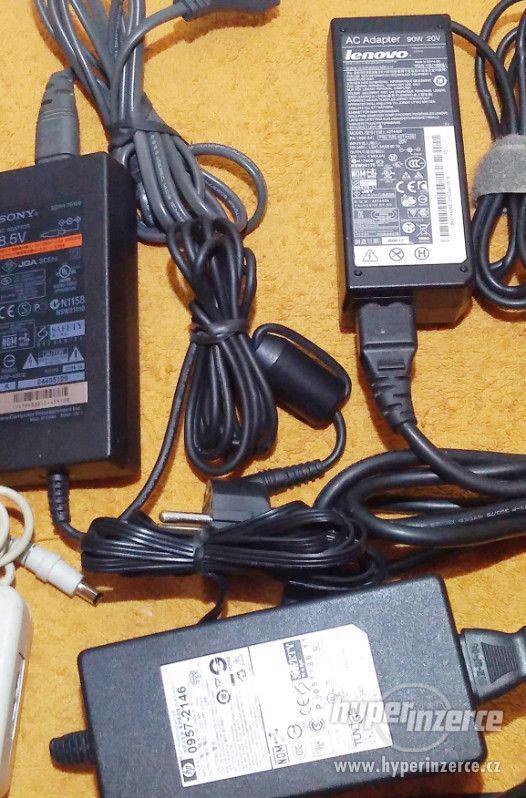 Zánovní originální napájecí AC adaptéry!!! - foto 3