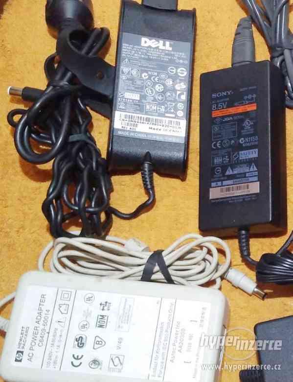 Zánovní originální napájecí AC adaptéry!!! - foto 2