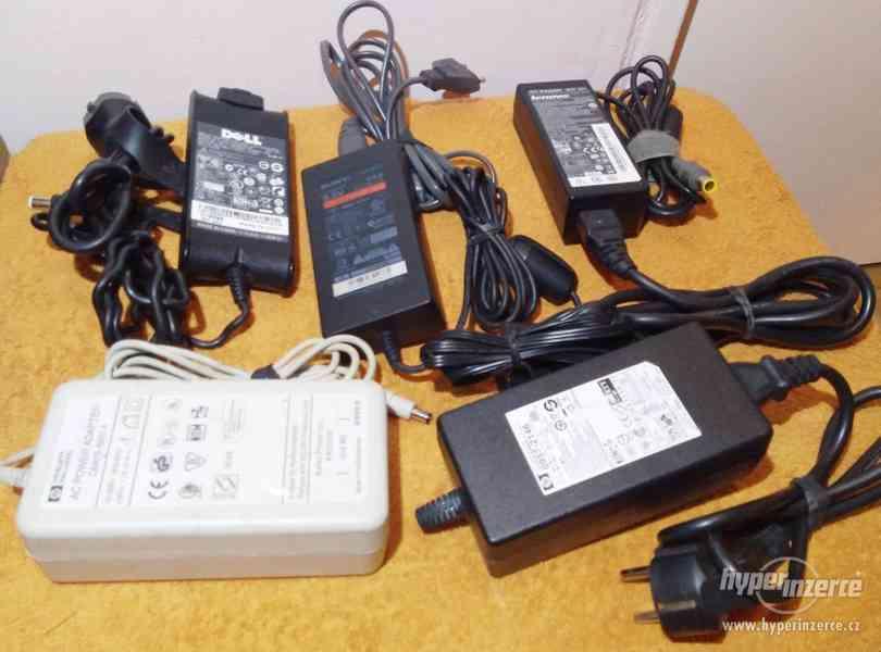 Zánovní originální napájecí AC adaptéry!!! - foto 5