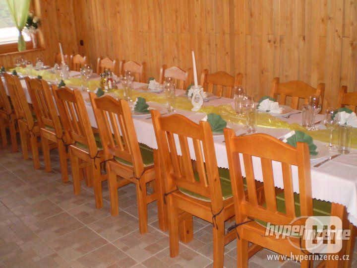 Nové Levné čepované dřevěné židle do hospody - foto 5