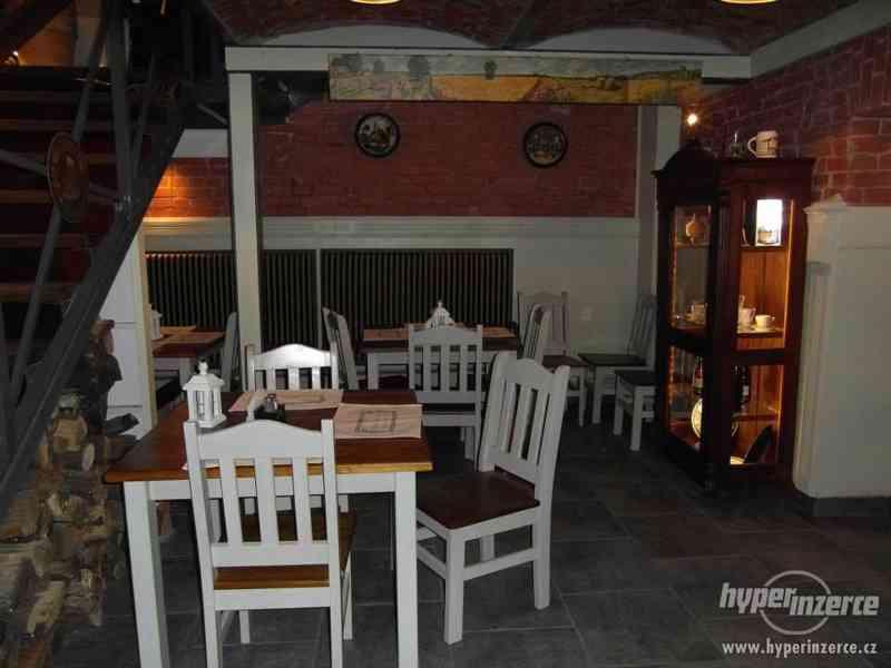 Nové Levné čepované dřevěné židle do hospody - foto 6