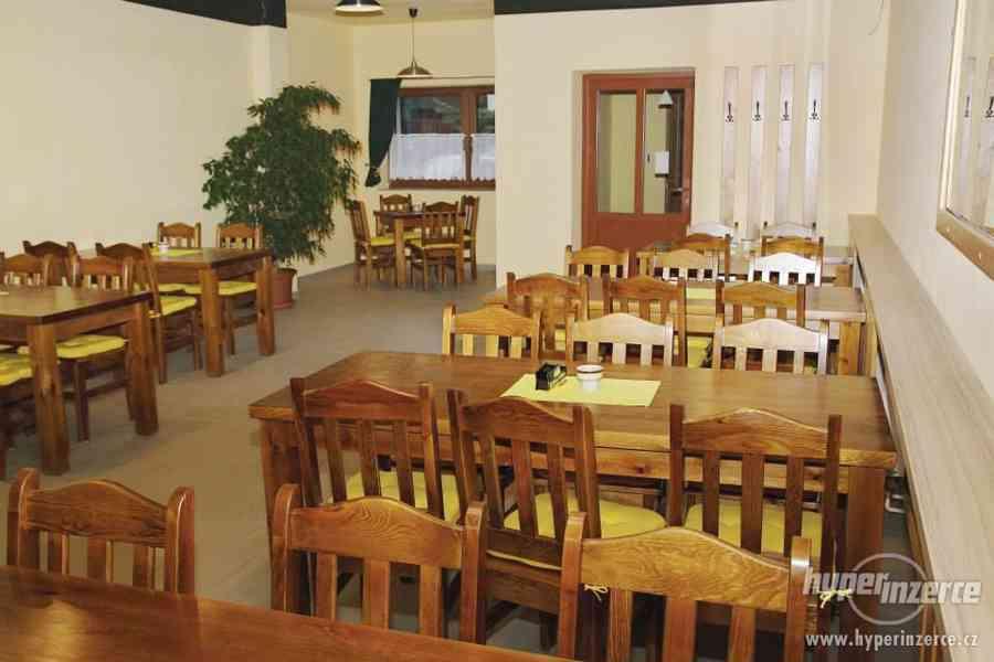 Nové Levné čepované dřevěné židle do hospody - foto 8
