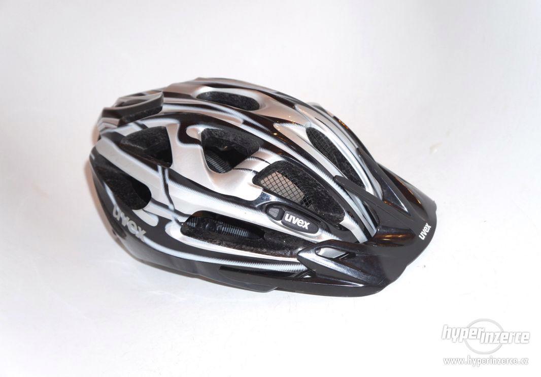 Cyklistická helma S/M přilba na kolo Uvex vel. 52-57cm. - foto 1