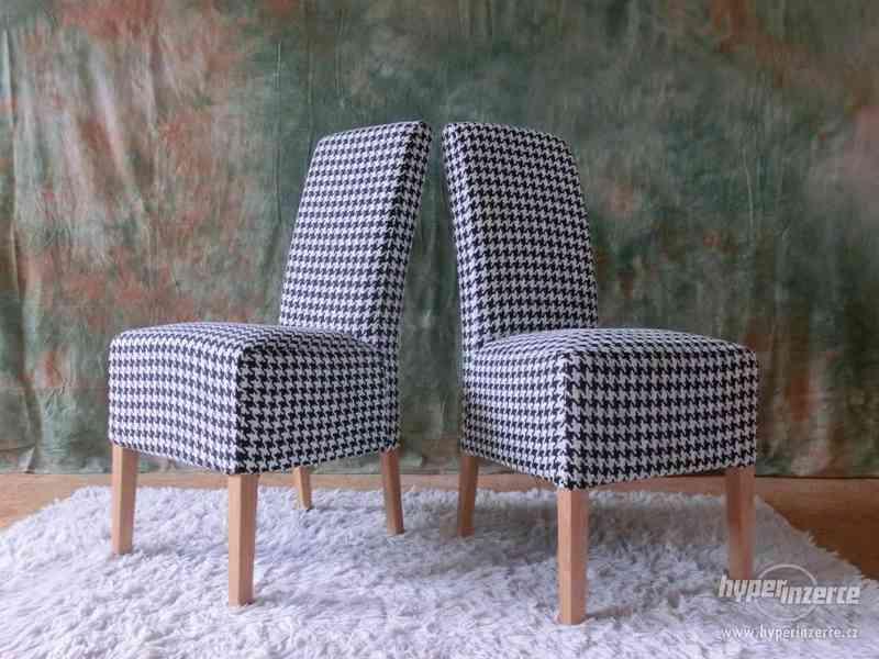 /017/ Nová jídelní židle RONA set 2ks
