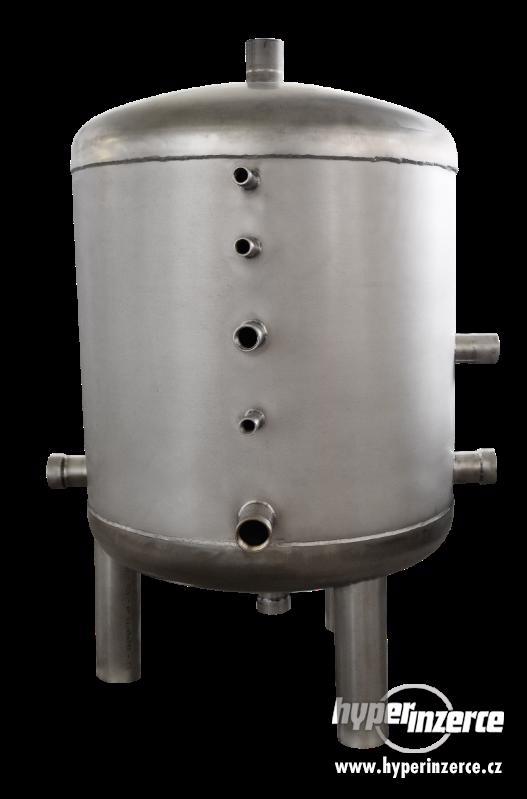 Nerezové zásobníky a ohřívače vody