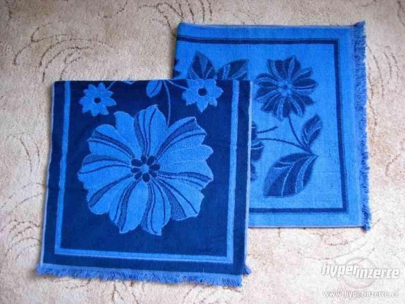 Nové froté ručníky