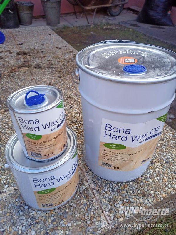 BONA - tvrdý voskový olej matný