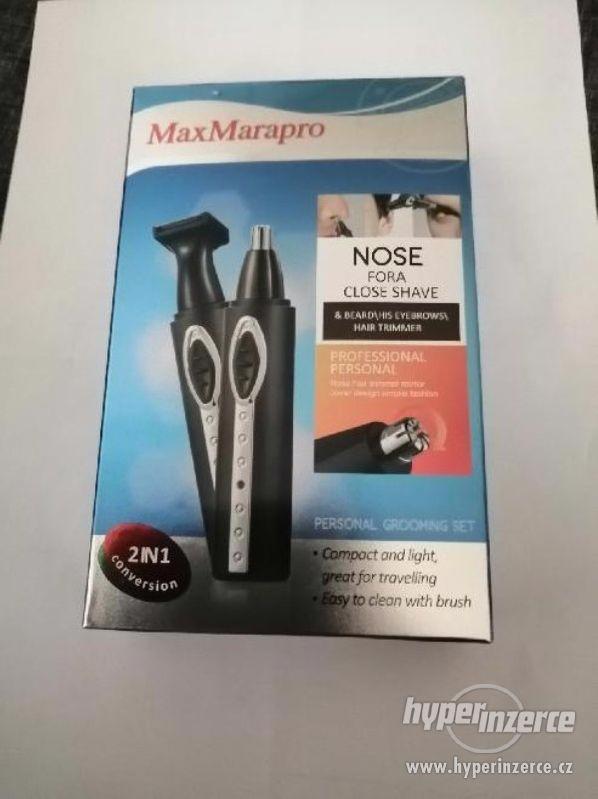 MAXMARAPRO 2v1 Zastřihovač na chloupky v nose a oboci (