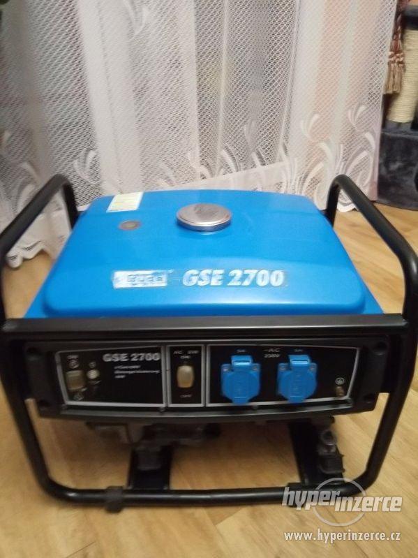 Prodám elektrocentrálu Gude GSE 2700 - foto 1