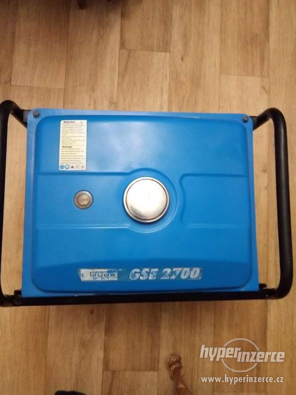 Prodám elektrocentrálu Gude GSE 2700 - foto 5