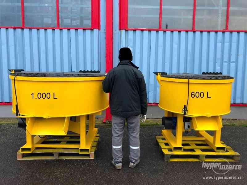 Elektrická míchačka - objem 600, 800, 1000 a 1200L - foto 18