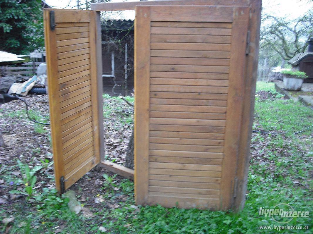 OKENICE dřevěné - k zabezpečení chaty, verandy - foto 1