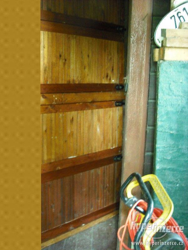 OKENICE dřevěné - k zabezpečení chaty, verandy - foto 3