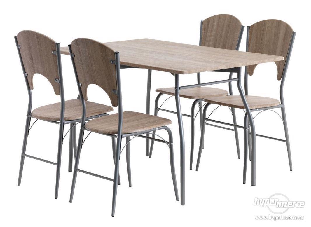 Prodám jídelní stůl + 4 židle Žatec - foto 1
