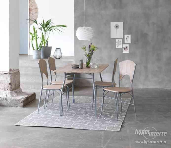 Prodám jídelní stůl + 4 židle Žatec - foto 2