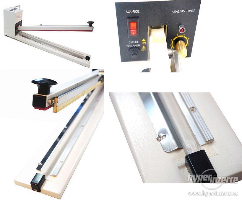 Impulsní páková svářečka HI600 s nožem - foto 1