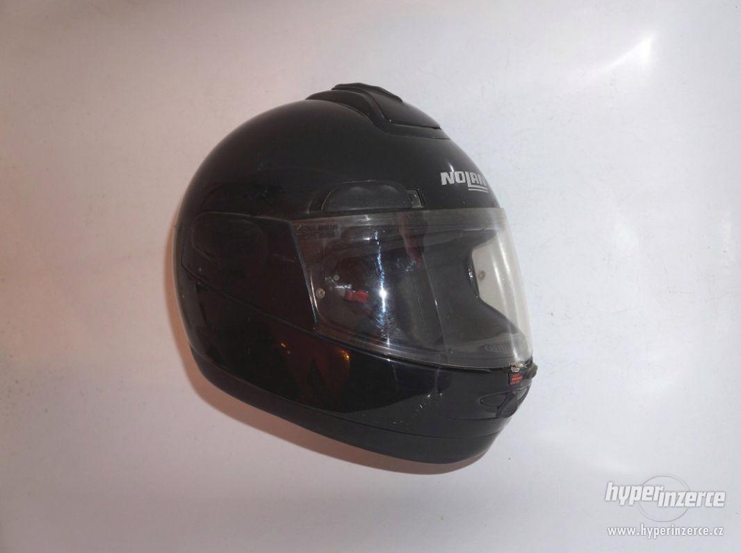 Helma na motorku S motocyklová přilba Nolan vel. 56cm (S) - foto 1