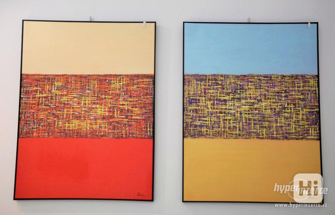 Moderní abstraktní obrazy - foto 1