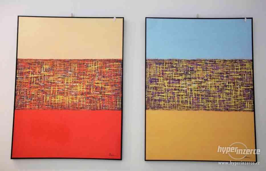 Moderní abstraktní obrazy