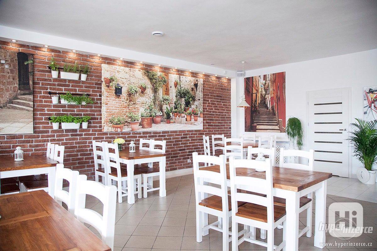 Nove Stylove drevene zidle do restaurace -voskovane ne - foto 1