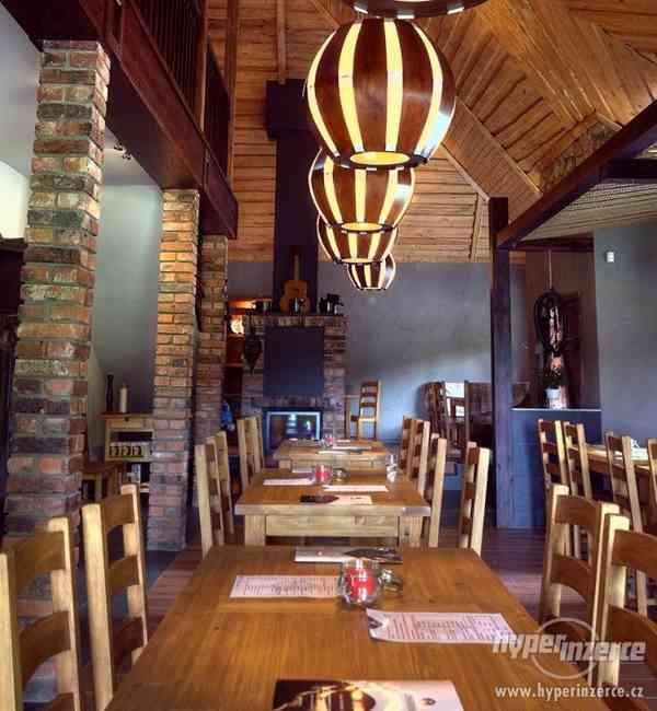 Nove Stylove drevene zidle do restaurace -voskovane ne - foto 3